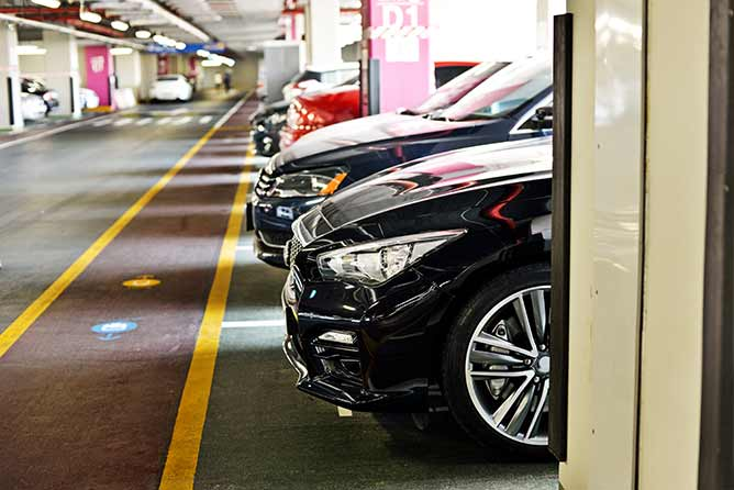 Parking Privé Allione | parking privé, Les Arcs (83)